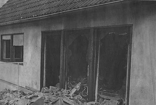Brand in der Karlsbader Straße