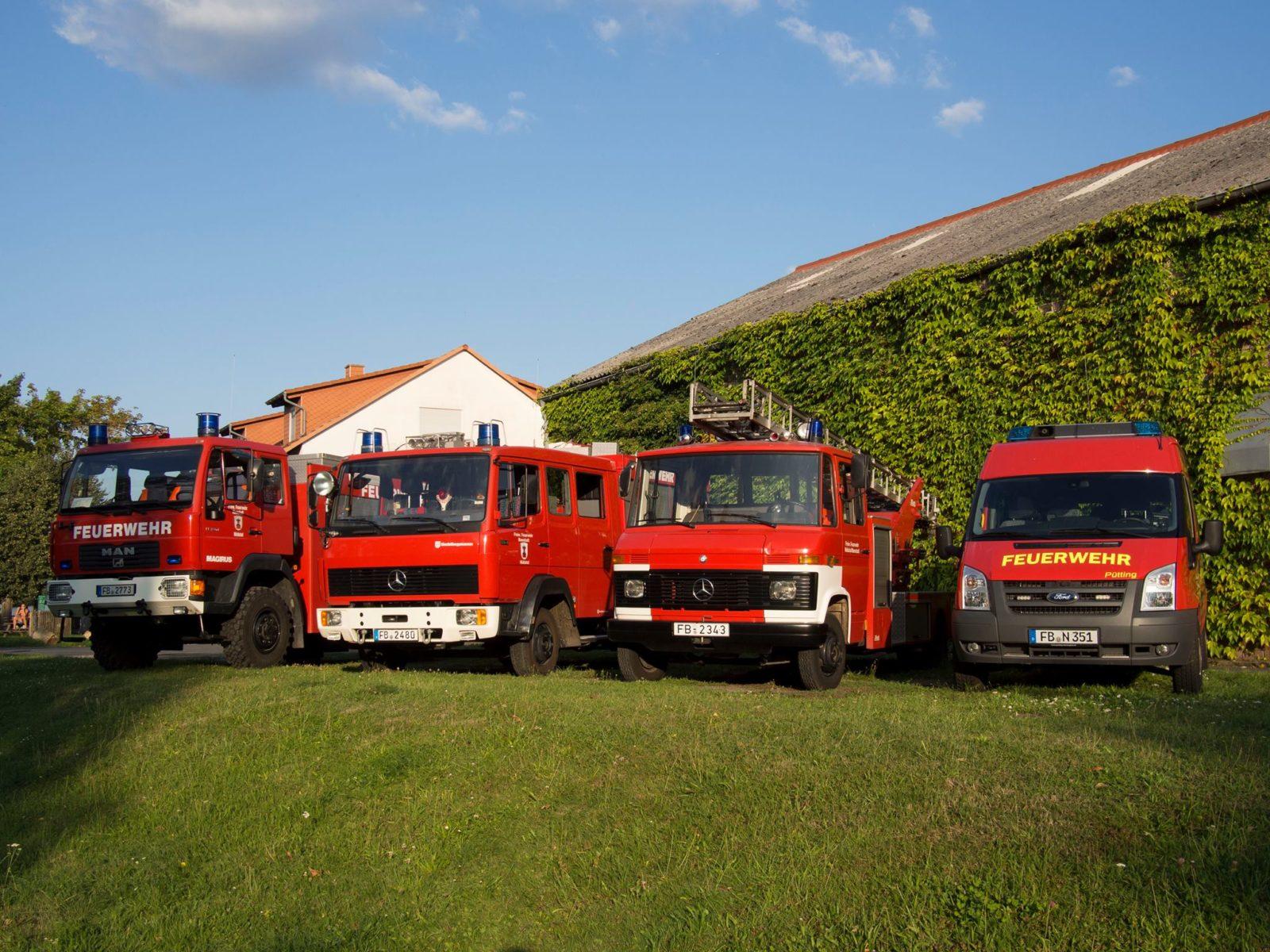Fahrzeuge der Feuerwehr Ilbenstadt